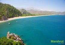 Черепаший пляж в Турции