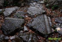 Остатки стен древнего храма